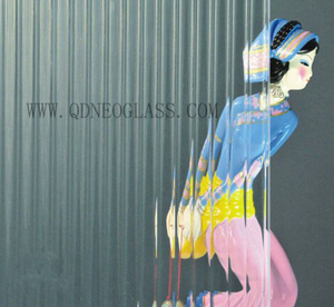 Tempered Moru Patterned Glass Door Panel-AS/NZS 2208: 1996, CE, ISO 9002