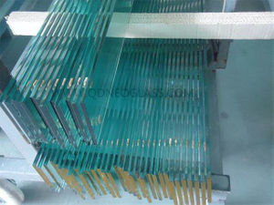 Tempered Louvre Glass for Door and Window, Window Louvre Glass