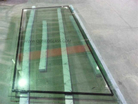 Stepped Laminated Glass IGU-AS/NZS 2208: 1996, CE, ISO 9002