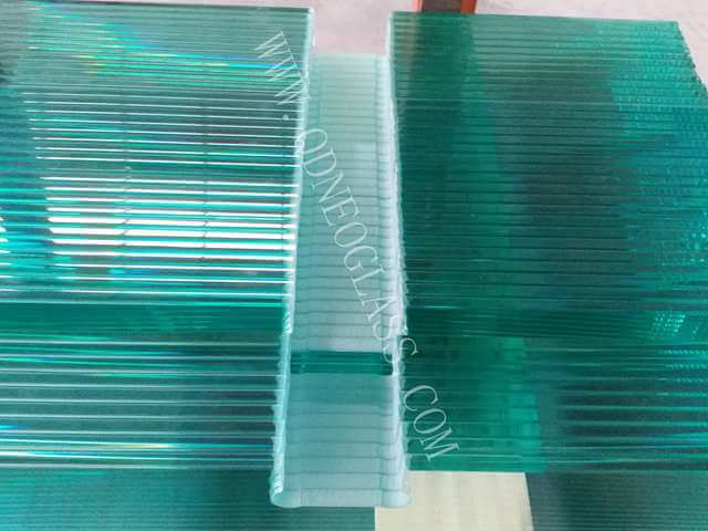 Toughened Glass Spandral with Cutout