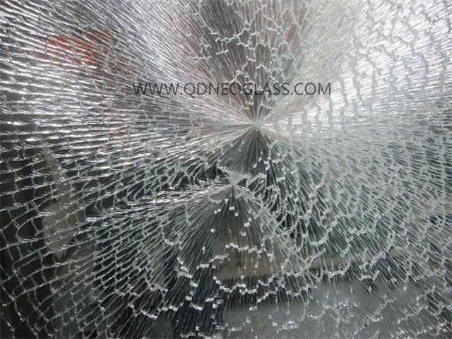 Laminated Glass--Hitting Test Result
