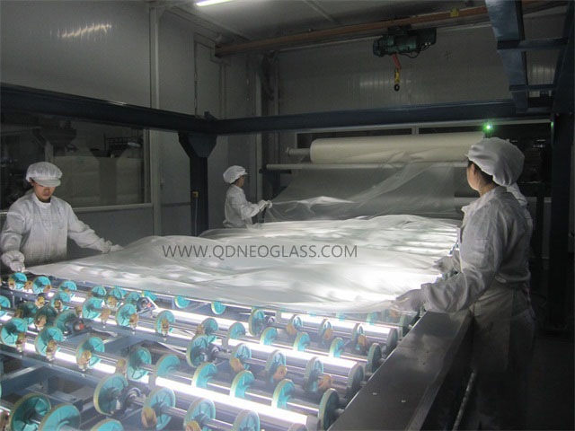 Laminated Glass -Laminating Room