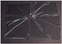 Breakage Pattern Of Heat Strengthened Glass