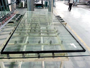 Stepped Laminated Glass(IGU)-AS/NZS 2208: 1996, CE, ISO 9002