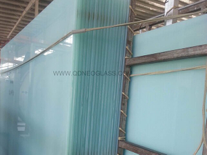 Translucent Laminated Glass For Partition and Sliding Door,Laminated Window Glass, White Translucent Laminated Glass, Milky Laminated Glass