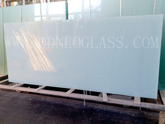 Opal Laminated Safety Glass, Milky White Laminated Safety Glass,White Translucent Laminated Glass