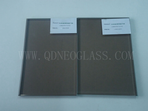 Custom-Made Bronze PVB Laminated Safety Glass-AS/NZS 2208: 1996, CE, ISO 9002