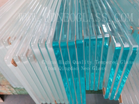 Low Iron Tempered Glass-AS/NZS 2208: 1996, CE, ISO 9002