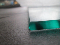 Polished C Edges/Round Edges Glass