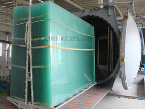 LAMINATED SAFETY GLASS-Clear، أبيض شفاف، رمادي، أخضر، برونز، Laminated Door Glass، Laminated Balcony Glass , Milky White Laminated Glass