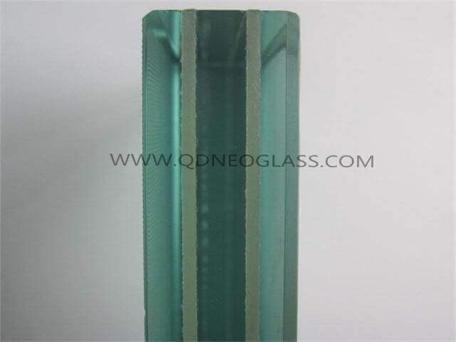 Triple Clear Tempered Laminated Glass